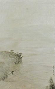 朝霧の鵜の岬